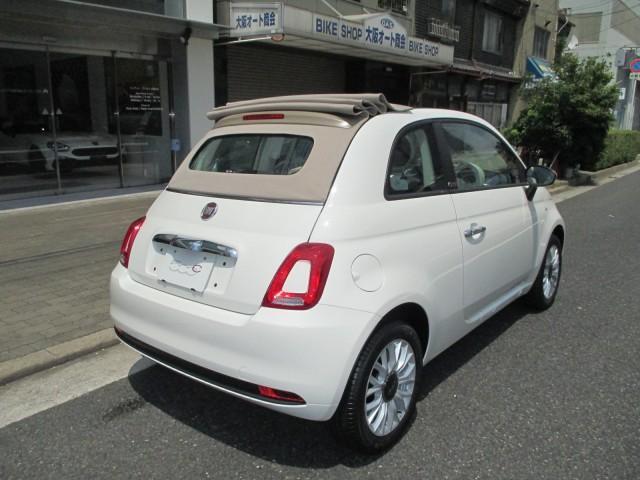 「フィアット」「フィアット 500C」「コンパクトカー」「大阪府」の中古車8