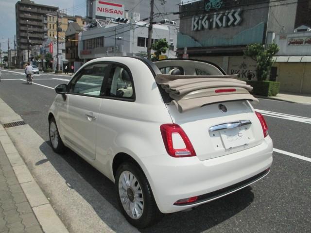 「フィアット」「フィアット 500C」「コンパクトカー」「大阪府」の中古車9