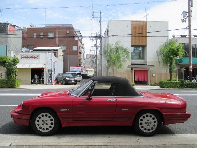 「アルファロメオ」「アルファスパイダー」「オープンカー」「大阪府」の中古車5