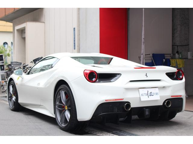 「フェラーリ」「フェラーリ 488スパイダー」「オープンカー」「大阪府」の中古車9