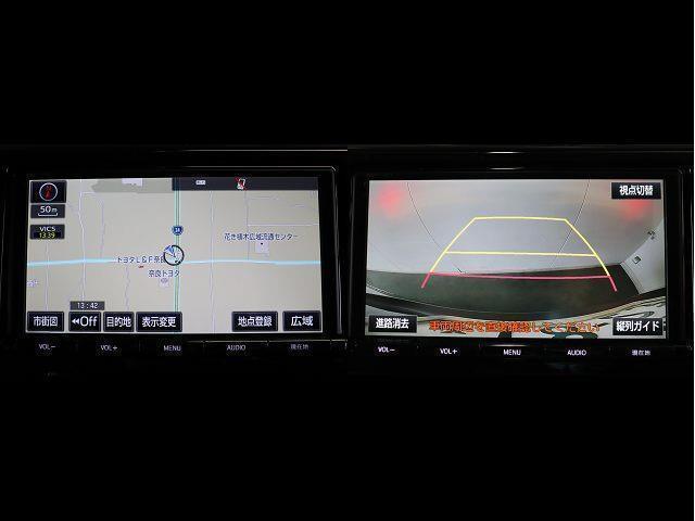 2.5Z Aエディション フルセグ メモリーナビ DVD再生 後席モニター バックカメラ 衝突被害軽減システム ETC 両側電動スライド LEDヘッドランプ 乗車定員7人 3列シート ワンオーナー(3枚目)
