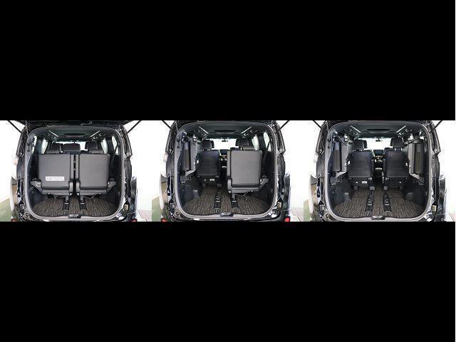 2.5Z Aエディション ゴールデンアイズ フルセグ メモリーナビ DVD再生 後席モニター バックカメラ 衝突被害軽減システム ETC 両側電動スライド LEDヘッドランプ 乗車定員7人 3列シート ワンオーナー(18枚目)