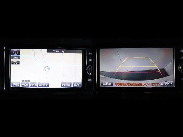 2.5Z Aエディション フルセグ メモリーナビ DVD再生 後席モニター バックカメラ 衝突被害軽減システム ETC 両側電動スライド LEDヘッドランプ 乗車定員7人 3列シート ワンオーナー アイドリングストップ(3枚目)