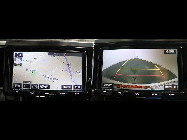 2.5Z フルセグ メモリーナビ DVD再生 後席モニター バックカメラ 衝突被害軽減システム ETC 両側電動スライド LEDヘッドランプ 乗車定員8人 3列シート ワンオーナー(3枚目)