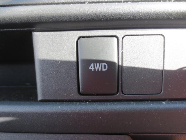 パートタイム4WDを採用してるので走行場所に合わせて切り替えれます☆