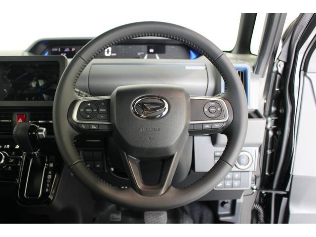 カスタムRSセレクション 届出済未使用車 追突被害軽減ブレーキ スマアシ コーナーセンサー オートライト レーダークルーズコントロール スマートキー 両側電動スライドドア LEDヘッドライト 前席シートヒーター(38枚目)