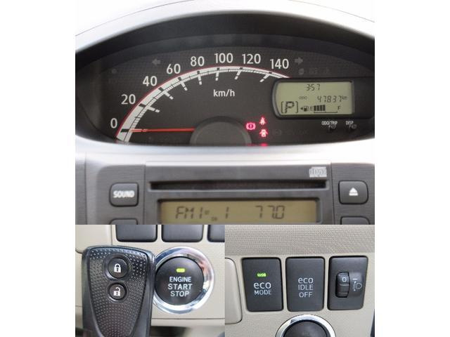 見やすいセンターメーターです☆また、スマートキータイプなのでエンジン始動はボタンでOKです!アイドリングストップも付いていて燃費も良好です!