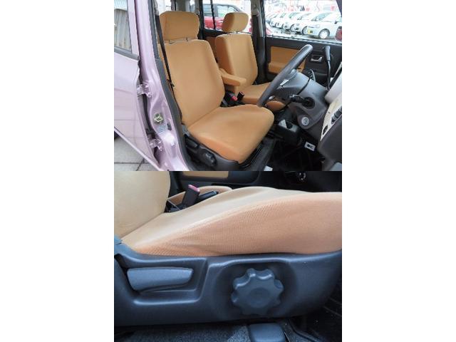 明るい内装色ですね☆運転席はシートリフター付きで高さ調整も可能です!