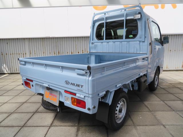 ボディカラーはミストブルー!白以外の軽トラックもいい感じですよ!