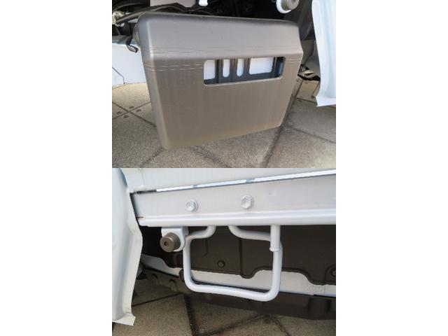 届出済未使用車でも、展示中に放電されている可能性があるのでバッテリー交換後にお渡しさせていただきます!もちろん点検整備、メーカー保証継承付きです!