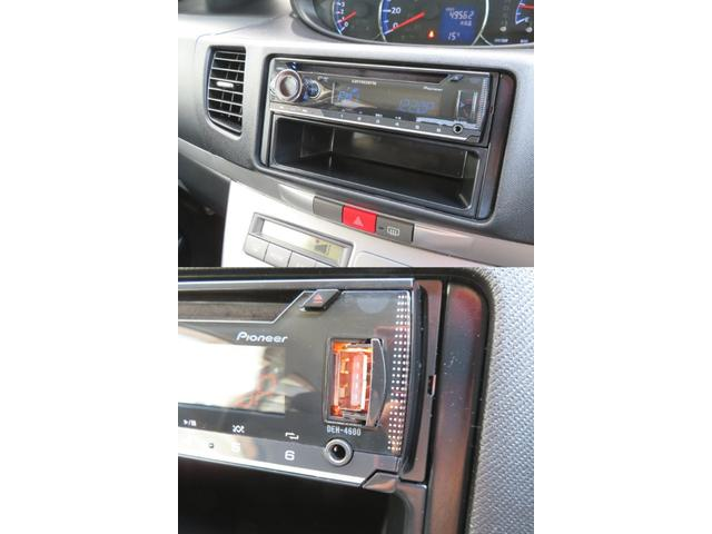 USBやAUX接続もOK!CDステレオです☆