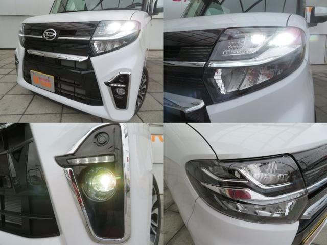 カスタムRS スタイルパック ターボ付 追突被害軽減ブレーキ スマアシ 両側電動スライドドア スマートキー オートエアコン LEDヘッドライト ターボ(4枚目)
