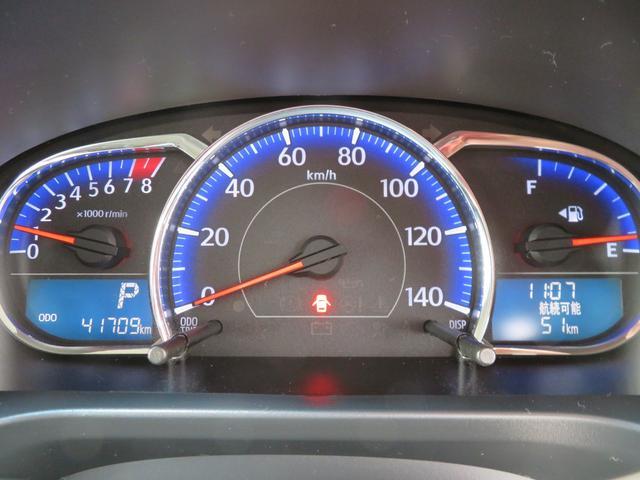 カスタム X SA 走行42000km スマアシ キーフリー LEDヘッドライト 純正フォグランプ エコアイドル シートリフター 誤発進抑制制御機能 横滑り防止装置機能 オートライト オートエアコン 純正アルミホイール(13枚目)