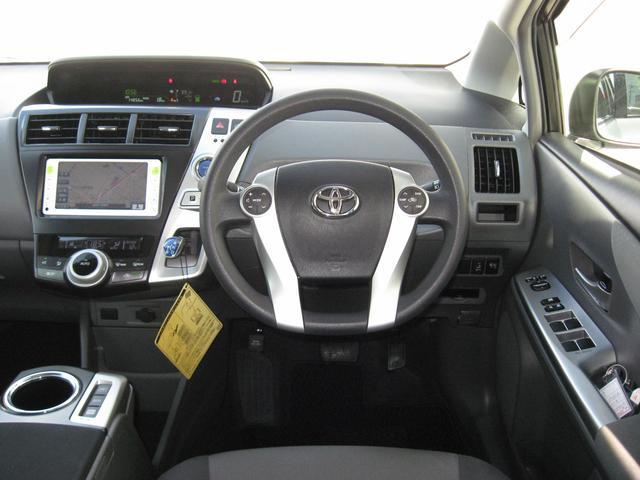 トヨタ プリウスアルファ S ナビ リヤカメラ スマートキー