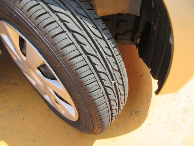 タイヤもまだまだ溝あります!