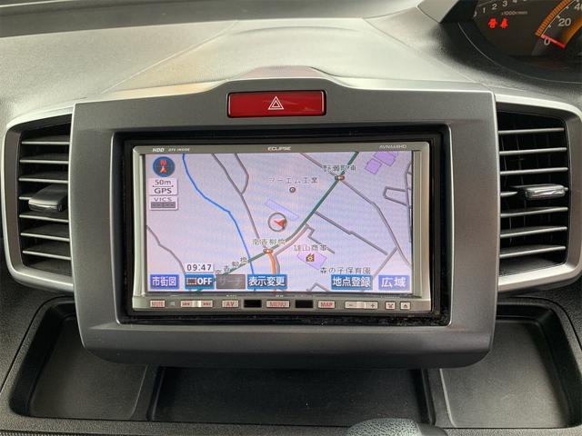 G Lパッケージ 社外HDDナビ/フルセグTV/両側パワースライドドア/バックモニター/ETC/オートエアコン/ウィンカーミラー/HIDヘッドライト(10枚目)