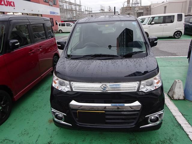 「スズキ」「ワゴンRスティングレー」「コンパクトカー」「滋賀県」の中古車5