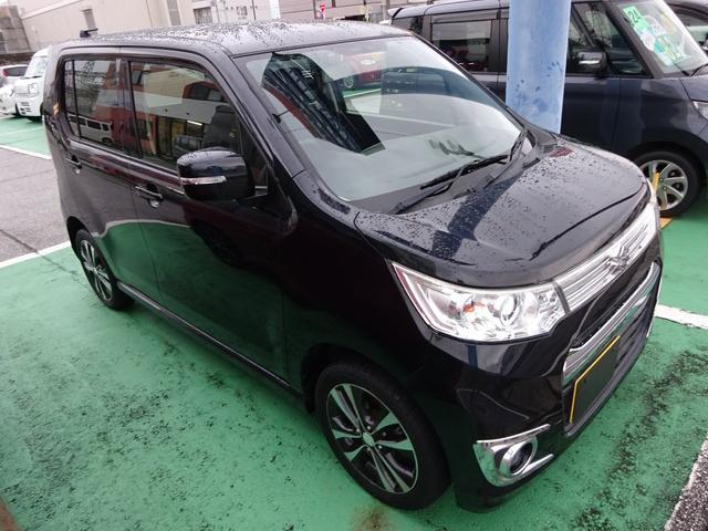 「スズキ」「ワゴンRスティングレー」「コンパクトカー」「滋賀県」の中古車7