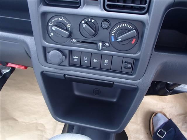 KC 4WD AT DCBS エアコン パワステ AM FMラジオ 両席エアバッ ABS 三方開 アングル 間欠ワイパー(7枚目)