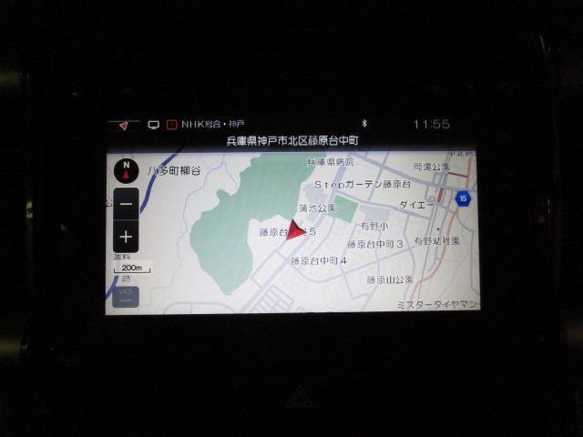 JスタイルII フルセグ メモリーナビ DVD再生 バックカメラ ETC HIDヘッドライト ワンオーナー(9枚目)