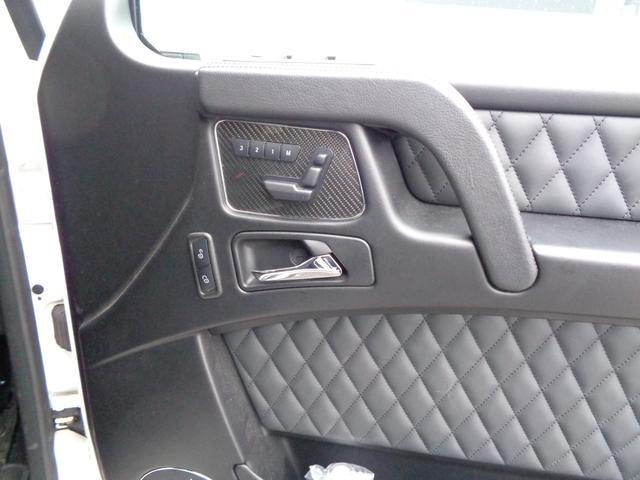 G63 designoエクスクルーシブインテリアpkg、AMGカーボンファイバーインテリアトリム(30枚目)