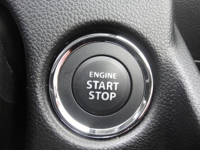 プッシュスタートシステムでエンジン始動ラクラク!