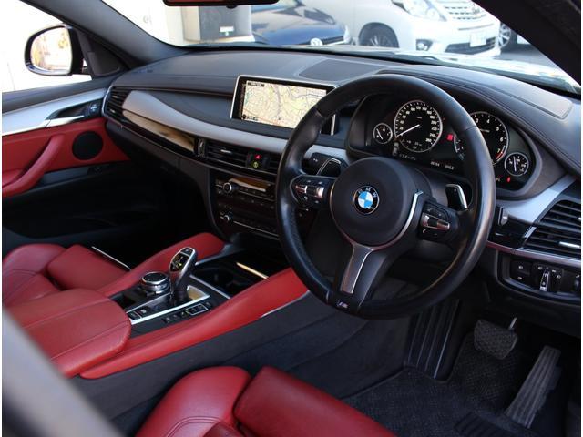 xDrive 35i Mスポーツ 法人ワンオーナー 赤革シート サンルーフ インテリジェントセフティ 前後ドライブレコーダー 全席シートヒーター 360度カメラ 純正20インチアルミホイール(7枚目)