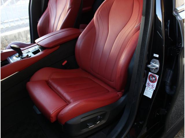 xDrive 35i Mスポーツ 法人ワンオーナー 赤革シート サンルーフ インテリジェントセフティ 前後ドライブレコーダー 全席シートヒーター 360度カメラ 純正20インチアルミホイール(10枚目)