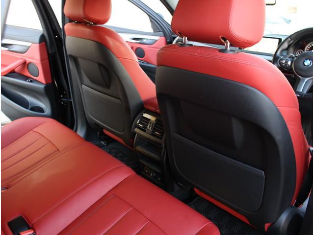 xDrive 35i Mスポーツ 法人ワンオーナー 赤革シート サンルーフ インテリジェントセフティ 前後ドライブレコーダー 全席シートヒーター 360度カメラ 純正20インチアルミホイール(13枚目)