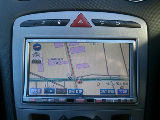 プジョー プジョー 308 プレミアム 1オーナー HDDナビ DTV ETC