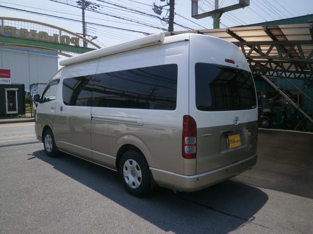 トヨタ ハイエースワゴン グランドキャビン キャンピング仕様 福祉8NO登録 Pスラ