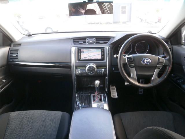 トヨタ マークX 250G Sパッケージリラックスセレ TRDエアロ
