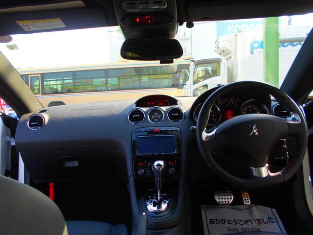 ベースグレード クリアランスソナー 社外2DINHDDナビ DTV ETC ドライブレコーダー GPSレーダー 黒革電動シート シートヒーター 取説 保証書 スペアキー(9枚目)