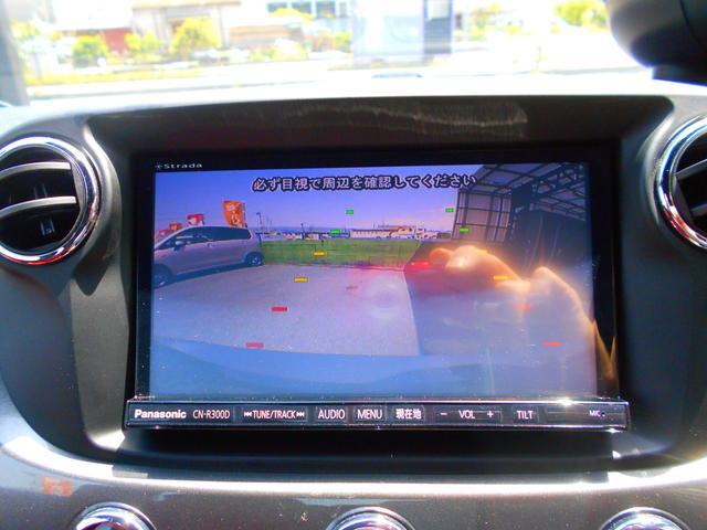 ツーリズモ 社外2DINナビキット フルセグDTV Bカメラ 赤革シート(11枚目)