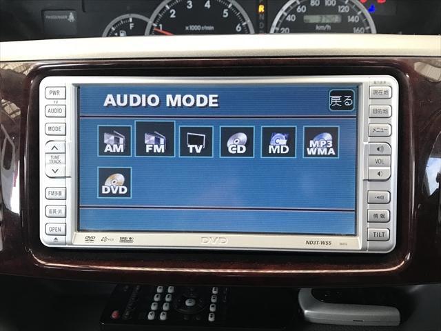 お使いいただけるのはDVDの再生とAM/FMラジオとCD/MDです。