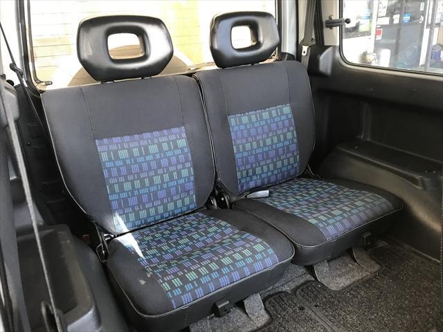 後席は使用回数も少ないのでフロント以上にキレイですよ。