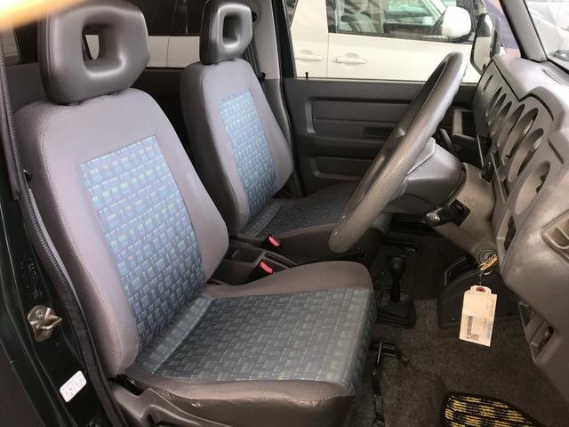 運転席のシートのサイド部分に少しの破れが有りますが、全体的にはこの年式を感じない状態ですよ。
