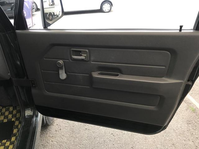 ドアの内張りもきれい。