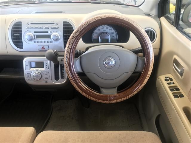 女性のユーザーさんのお車でしたので内装はキレイにされています。