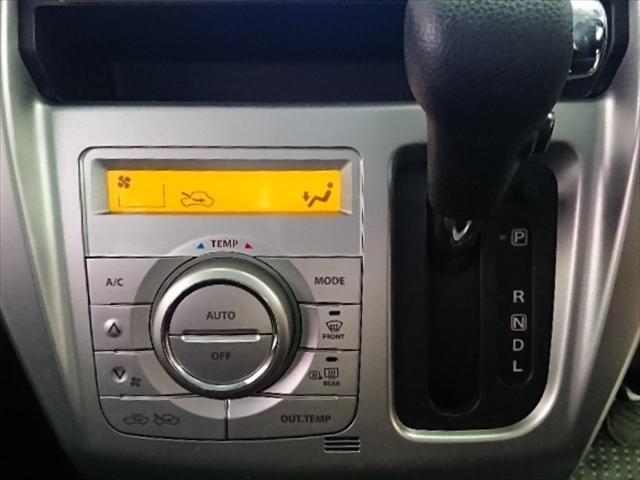 エアコンは簡単操作のオートエアコンです。