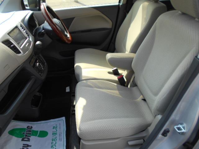 フロントシート綺麗です!