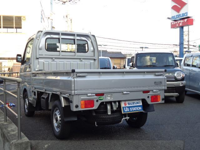 KCエアコンパワステ 3型 パートタイム4WD 純正ラジオ(7枚目)