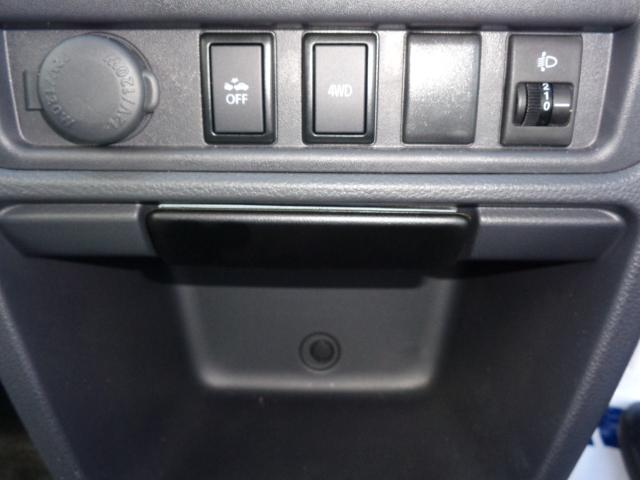 KCエアコンパワステ 3型 パートタイム4WD 純正ラジオ(12枚目)