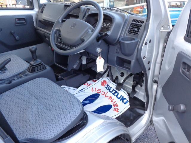 KCエアコンパワステ 3型 パートタイム4WD 純正ラジオ(20枚目)