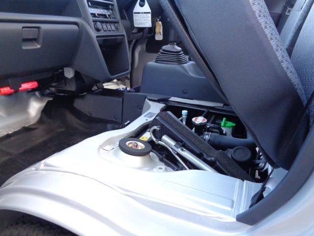 KCエアコンパワステ 3型 パートタイム4WD 純正ラジオ(40枚目)