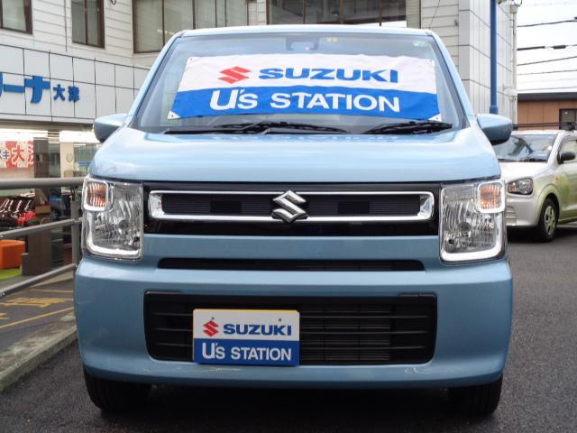 ブルーのワゴンRを是非ご覧ください。