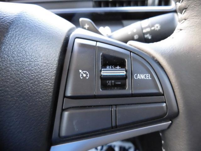 クルーズコントロールのスイッチです。高速道路の運転も楽々。