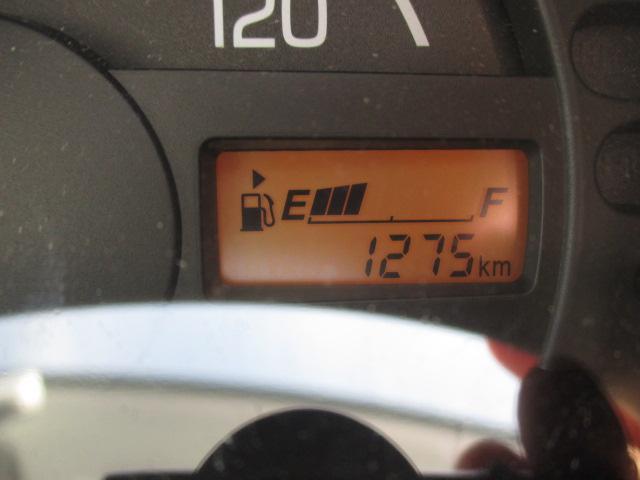 走行距離は1,275キロ
