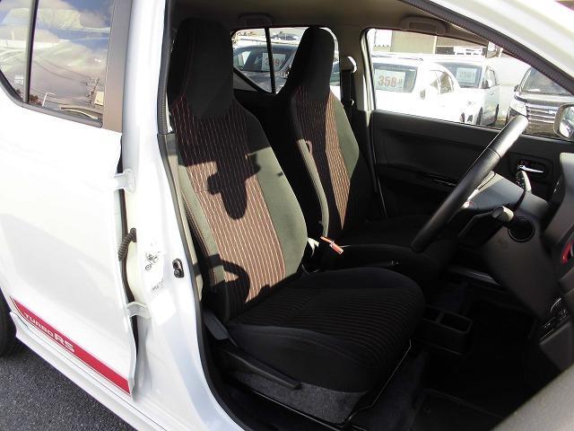 スズキ アルトターボRS ベースグレード  レーダーブレーキサポート シートヒーター