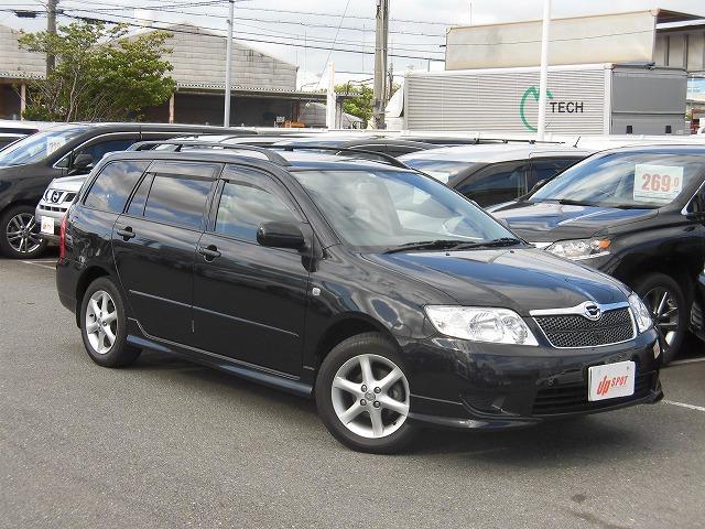 トヨタ カローラフィールダー S DVDナビ バックフロントカメラ CD ワンオーナー